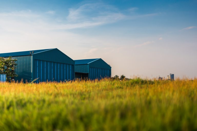 Poultry Barn on the prairies